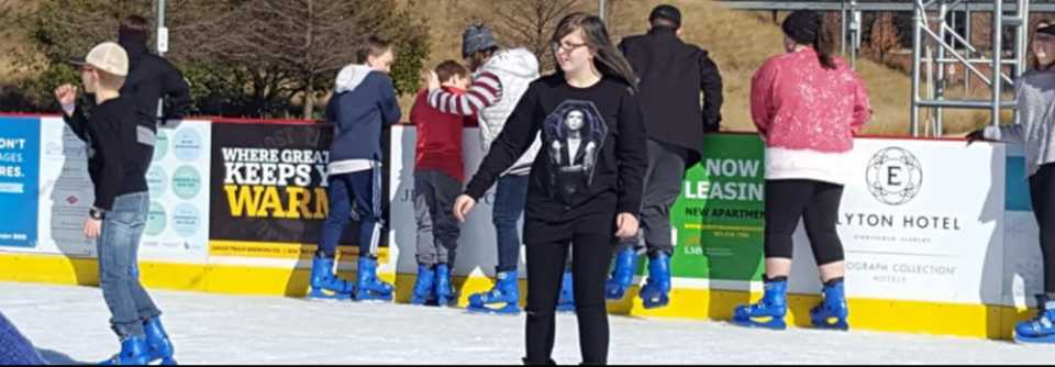 Youth Ice Skating @ Railroad Park